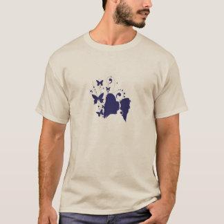 T-shirt Silhouette principale de Papillon