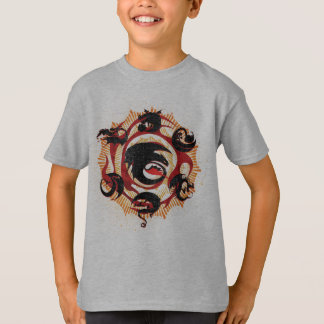 T-shirt Silhouettes de dragon