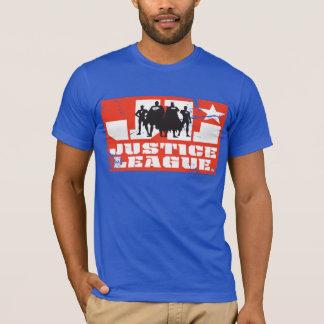 T-shirt Silhouettes de logo et de caractère de ligue de