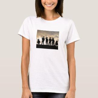 T-shirt Silhouettes de soldat