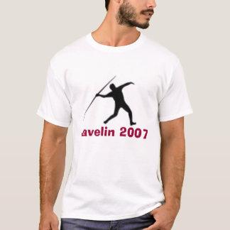 T-shirt Sillouettes_T-F-Javelin, javelot 2007