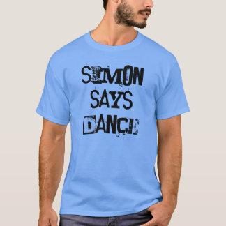 T-shirt Simon dit la pièce en t de danse