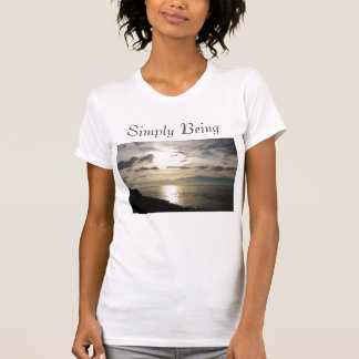 T-shirt Simplement étant