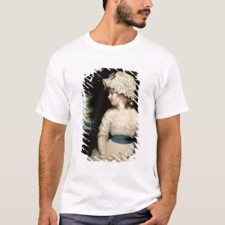 T-shirt Simplicité - un portrait de Mlle Theophilia
