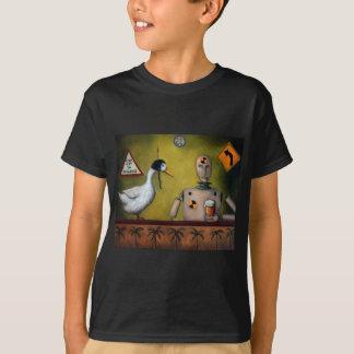 T-shirt Simulacre d'essai de boissons