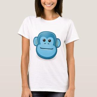 T-shirt Singe bleu