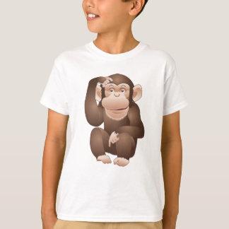 T-shirt Singe curieux