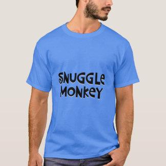 T-shirt Singe de câlin