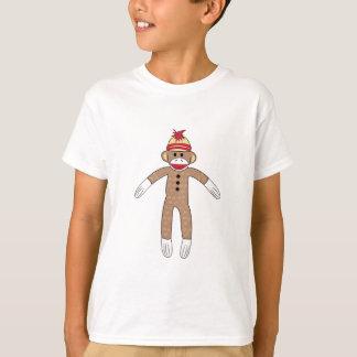 T-shirt Singe de chaussette