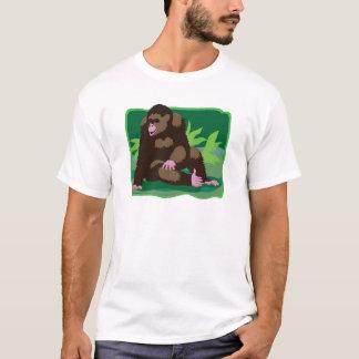 T-shirt Singe de jungle