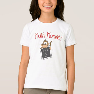 T-shirt Singe de maths