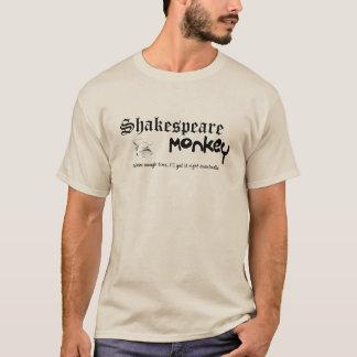 T-shirt Singe de Shakespeare