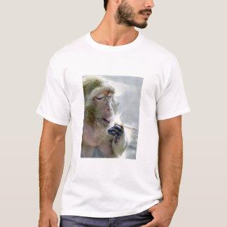 T-shirt Singe de tabagisme