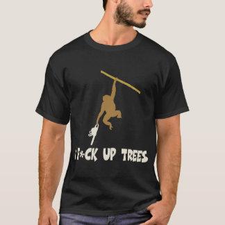 T-shirt Singe drôle et offensif