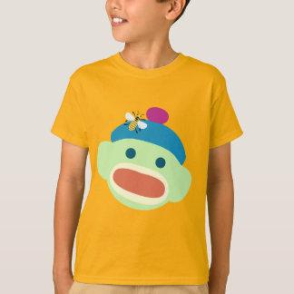 T-shirt Singe et abeille de chaussette