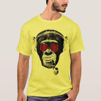 T-shirt Singe fou