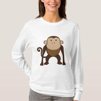 T-shirt Singe mignon de Brown