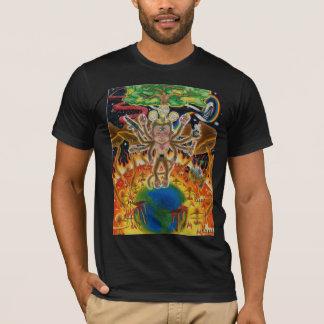 T-shirt Singe psychédélique