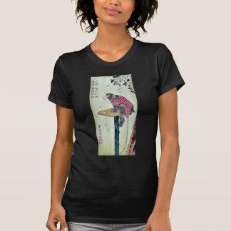 T-shirt Singe sur des fleurs de cerisier par Ando,