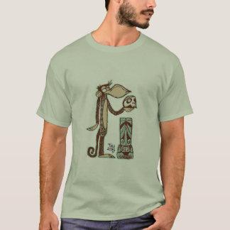 T-shirt Singe Tiki de Hamlet