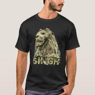 T-shirt Singh - lion majestueux