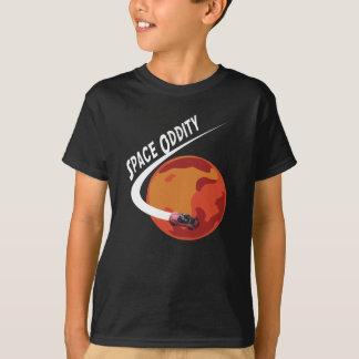 T-shirt Singularité de l'espace - musc lourd de faucon de