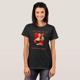 T-shirt Singularité obsolète Skelly à chapeau - femmes