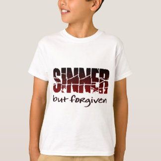 T-shirt Sinner mais indulgent
