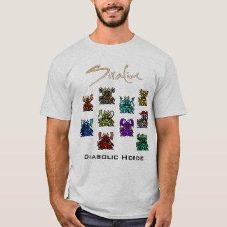 T-shirt Siralim - chemise diabolique d'horde