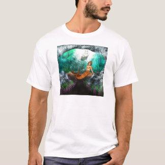 T-shirt Sirène avec le naufrage