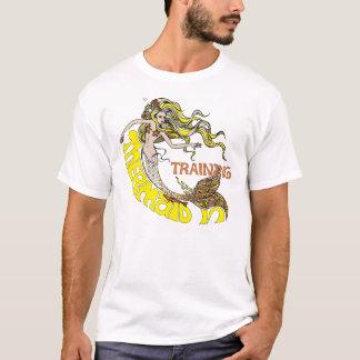 T-shirt Sirène dans la formation (blonde)