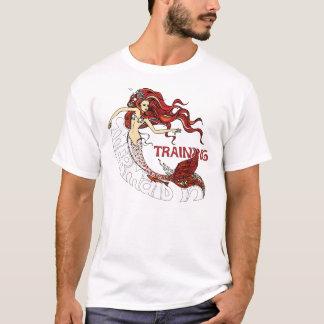 T-shirt Sirène dans la formation (roux)
