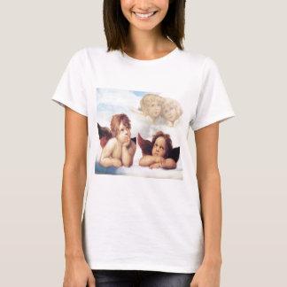 T-shirt Sistine Madonna 2 anges par Raphael
