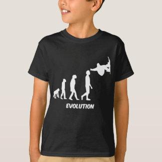T-shirt skateboarding d'évolution