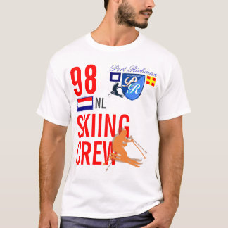 T-shirt Ski de Pays-Bas d'équipage de ski de Richman de