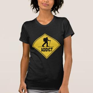 T-shirt Ski de pays croisé d'aw