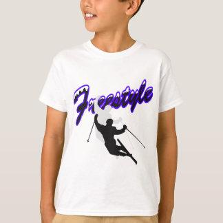 T-shirt Ski de style libre