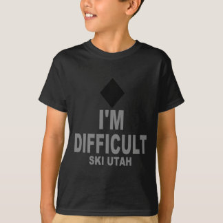 T-shirt Ski difficile Utah
