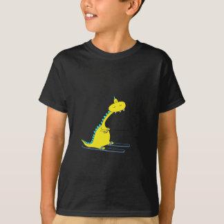 T-shirt ski Dino