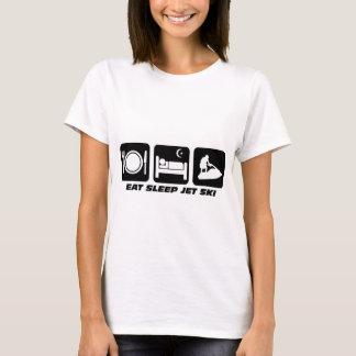 T-shirt Ski drôle de jet
