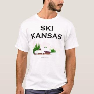 T-shirt Ski SUPÉRIEUR le Kansas