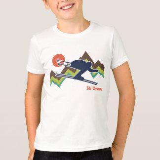 T-shirt Ski Vermont
