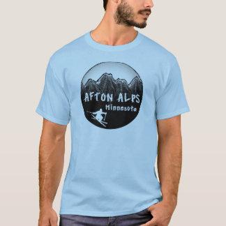 T-shirt Skieur du Minnesota d'Alpes d'Afton