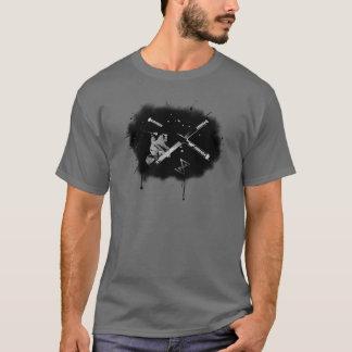 T-shirt Skieur malade