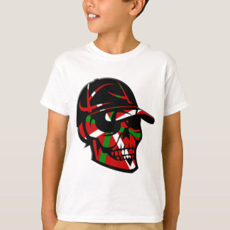 T-shirt Skull surfeur Basque