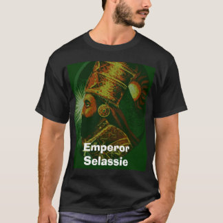 T-shirt Sleassie, empereur Selassie