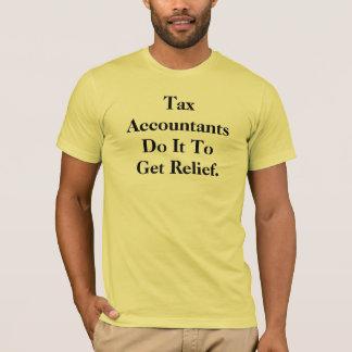 T-shirt Slogan de comptable d'impôts