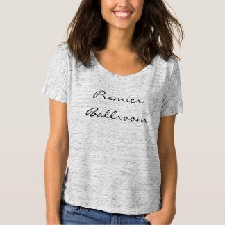 T-shirt Slouchy d'ami de toile de Bella des femmes