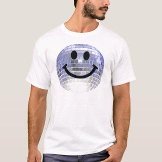 T-shirt Smiley de boule de disco