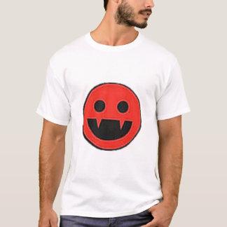 T-shirt Smiley de vampire